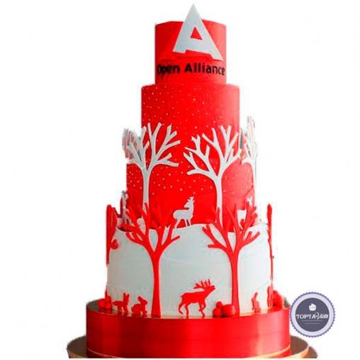 корпоративный торт - alliance