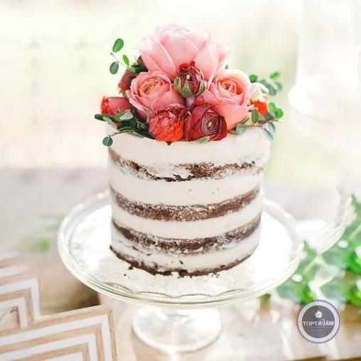 свадебный торт - ред наоми