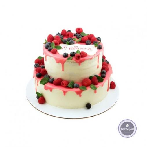 Торт без мастики Ягодная улица