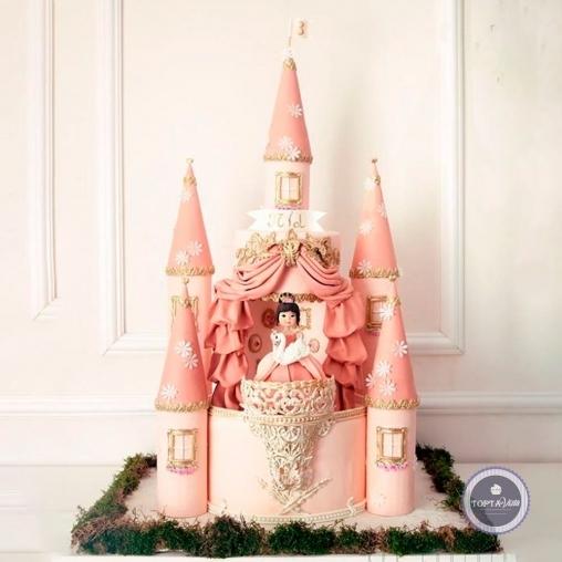 детский торт - лебёдушка