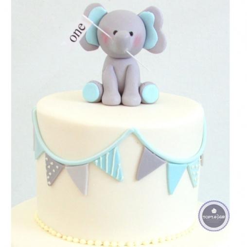 детский торт слоник