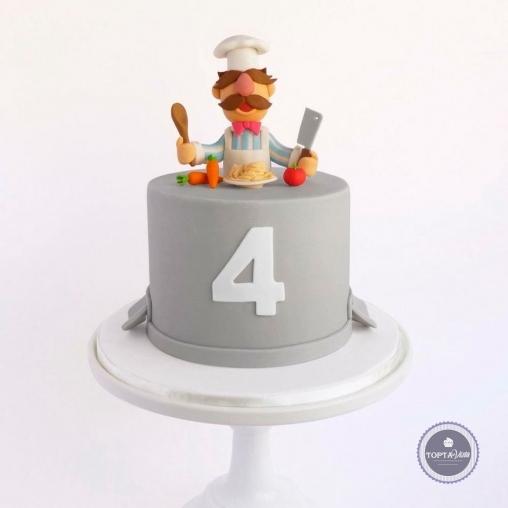детский торт - рецепт от повара