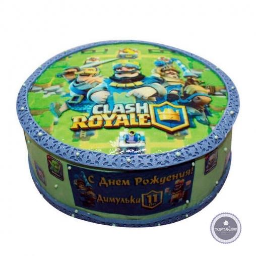 детский торт - clash royale