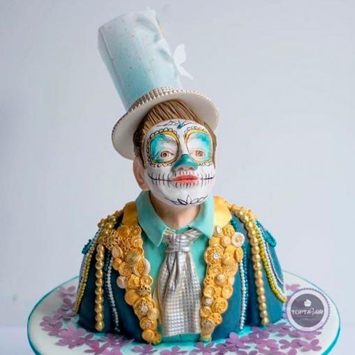 vip торт клоун