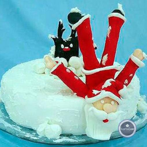 новогодний торт - повело