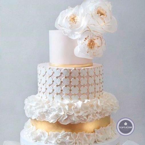 Свадебный торт Вуаль