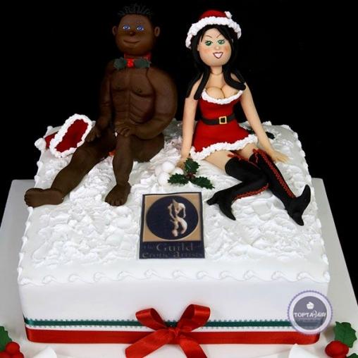 эротический торт окей для двоих