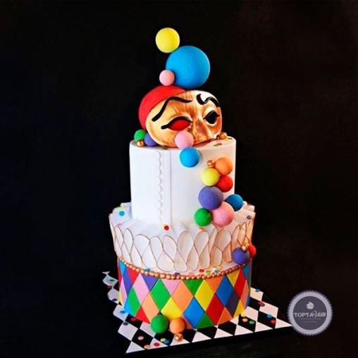 праздничный торт шапито