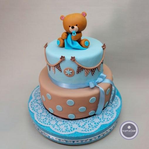 детский торт мишутка
