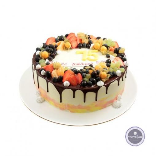 торт без мастики джулия