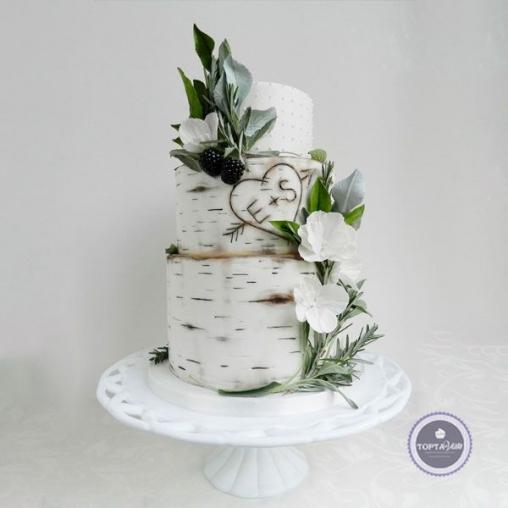 свадебный торт верность