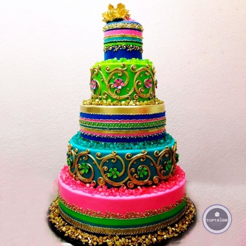 свадебный торт - восточная сказка