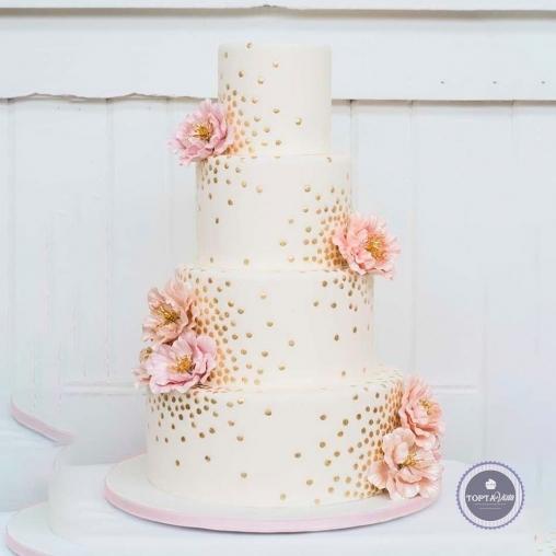 свадебный торт - махаон
