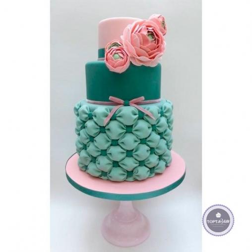 торт для женщин шляпка
