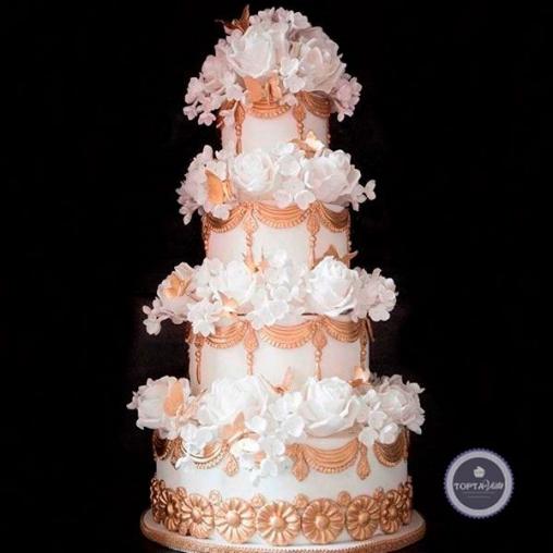 Свадебный торт Жасмин