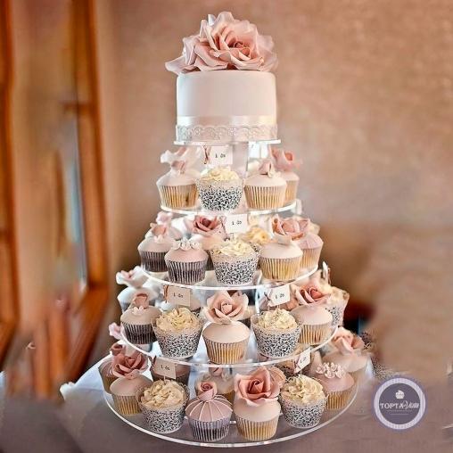 свадебный торт - свадебный кейк