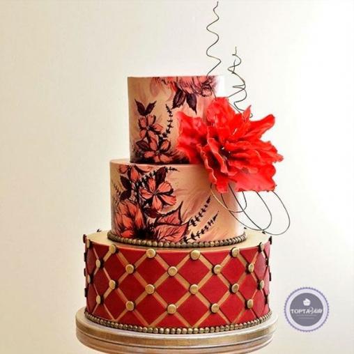 торт для женщин королева