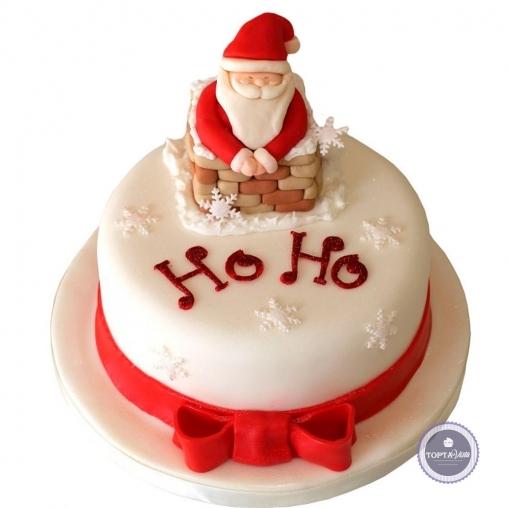новогодний торт - о-хо-хо
