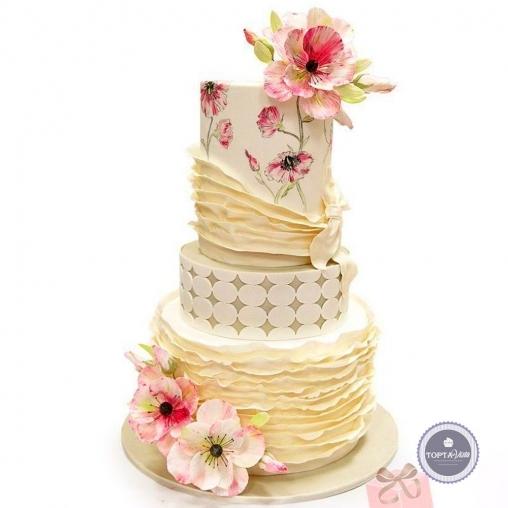 свадебный торт - кэтрин