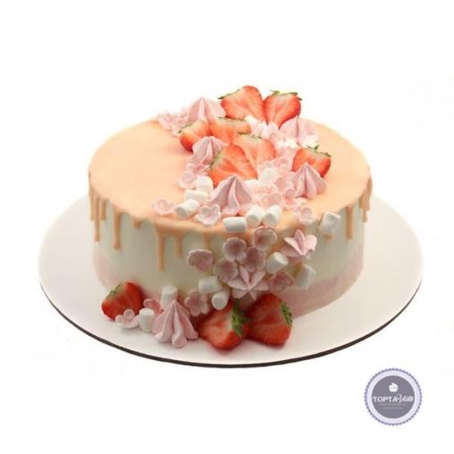 Торт без мастики Вкусвилл