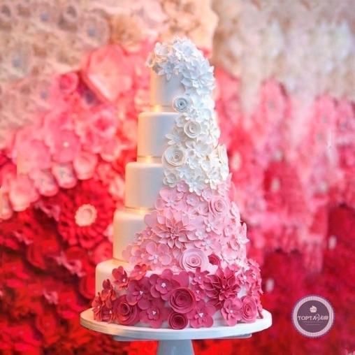 свадебный торт - сабрина