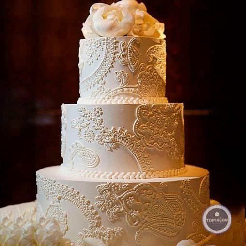свадебный торт - роскошь