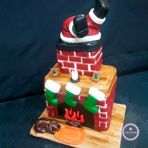 новогодний торт - ждем чуда