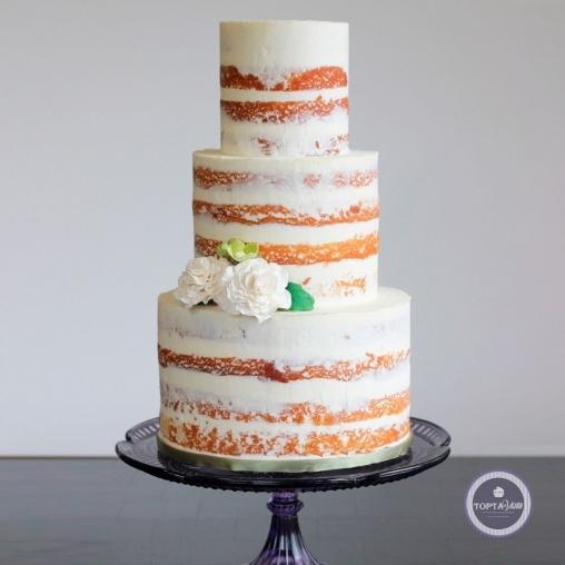 свадебный торт - мраморный
