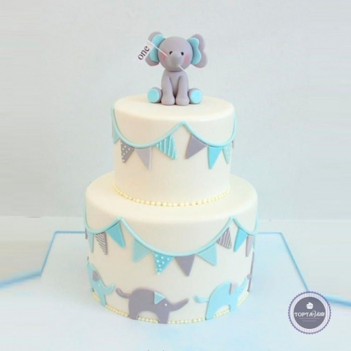 детский торт - один слоник