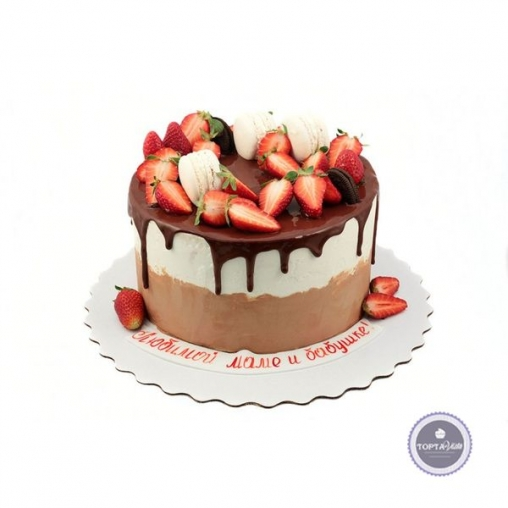 торт без мастики царский