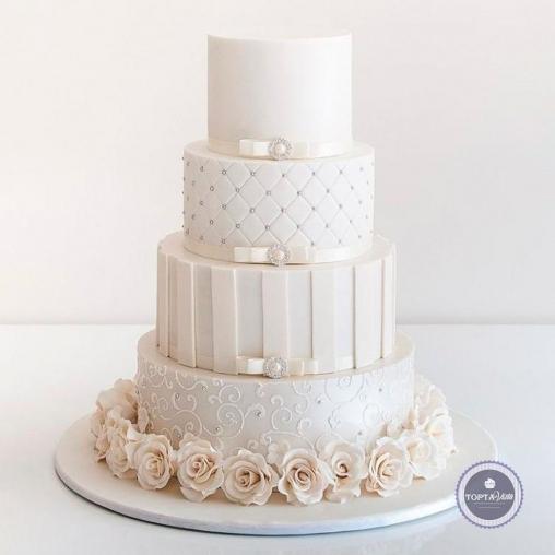 свадебный торт - меган