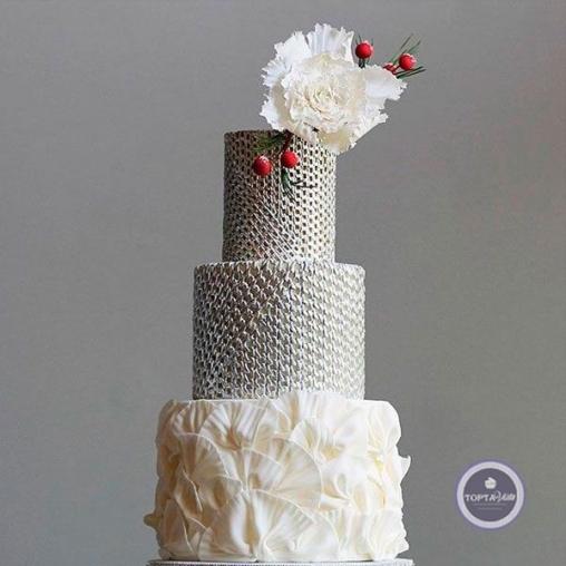 Свадебный торт Цепи любви