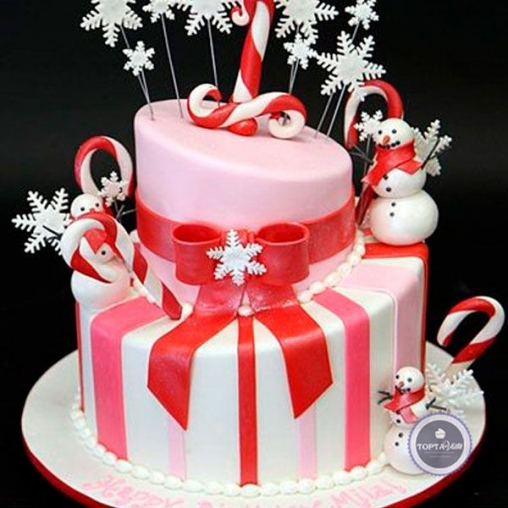 новогодний торт - хэппи
