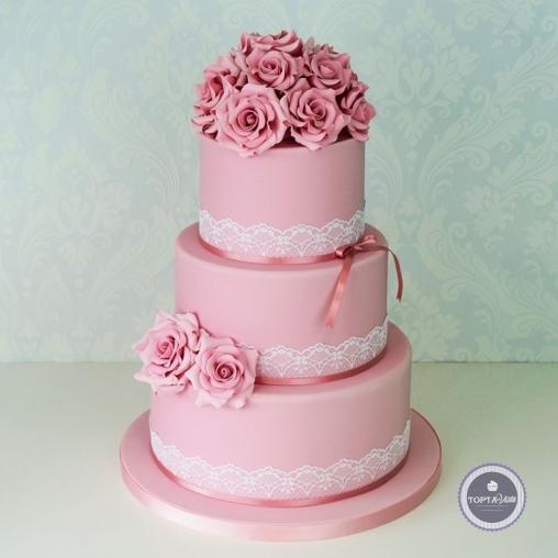 свадебный торт - изаура