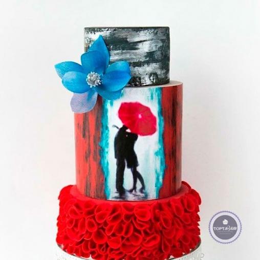 свадебный торт медео