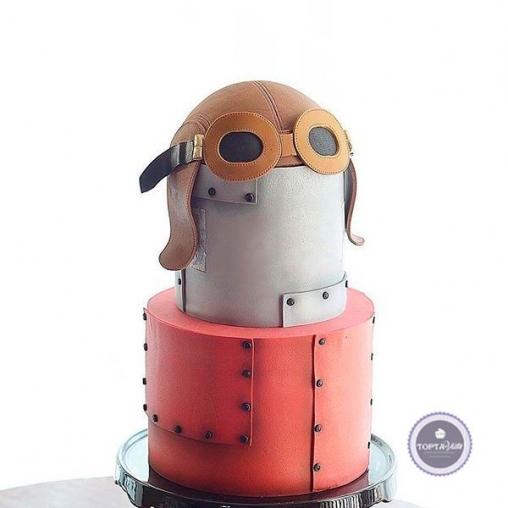 торт для мужчин лётчик
