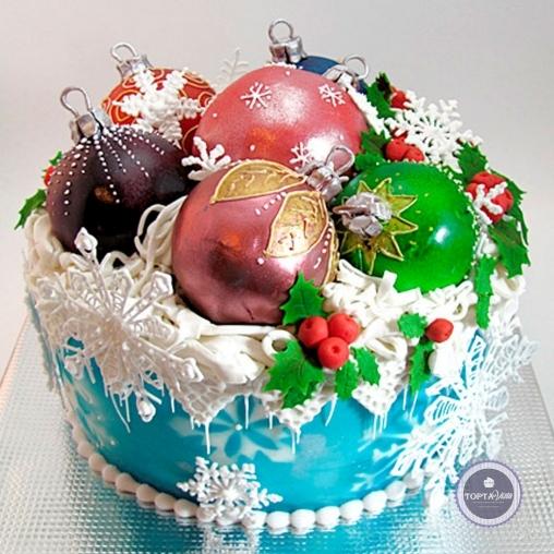 новогодний торт - память из детства