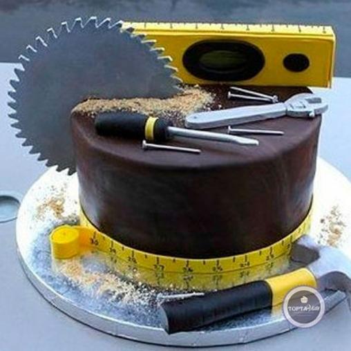 торт для мужчин мастеровой