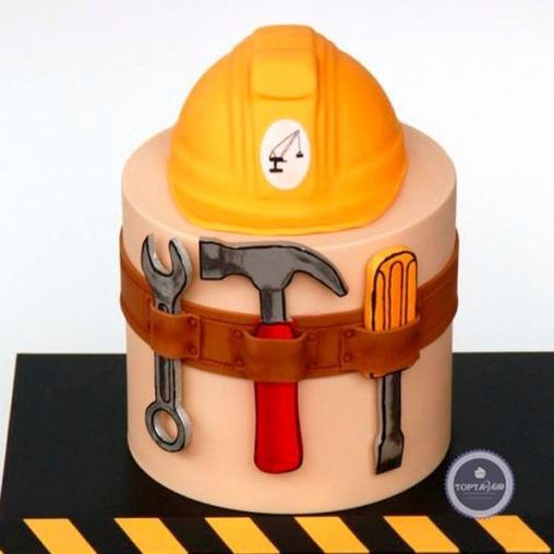 торт для мужчин архитектор
