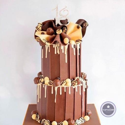 праздничный торт шоколайф