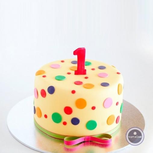 детский торт - улыбки