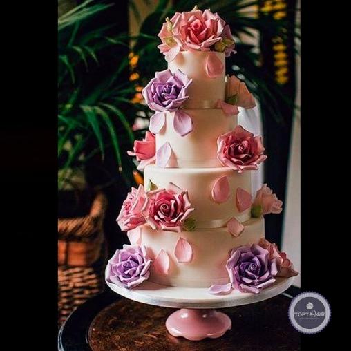 свадебный торт - вероника