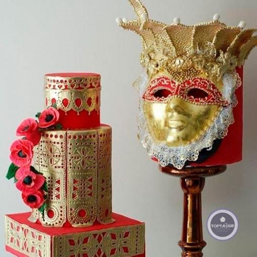 свадебный торт генриетта