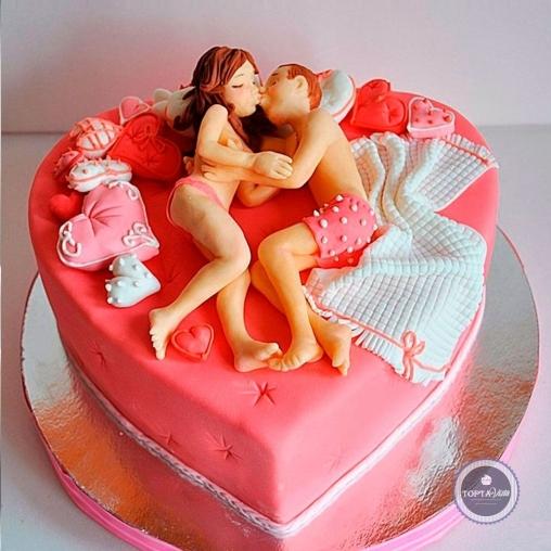 эротический торт - зажгем