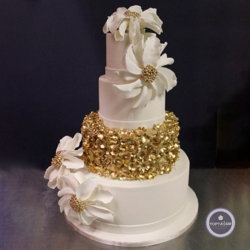 свадебный торт - клео