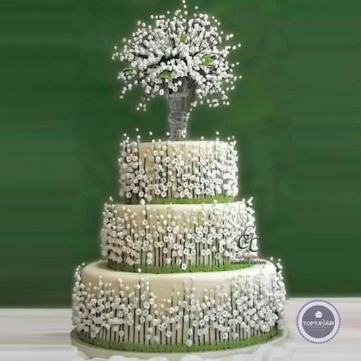свадебный торт - камилла