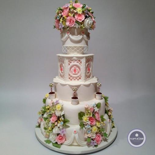 свадебный торт - элизабет