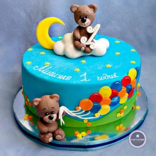 детский торт - поздравляем