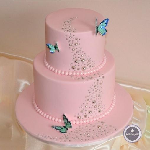 свадебный торт - сильвия