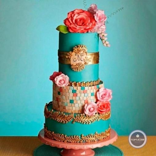 свадебный торт - марьяна